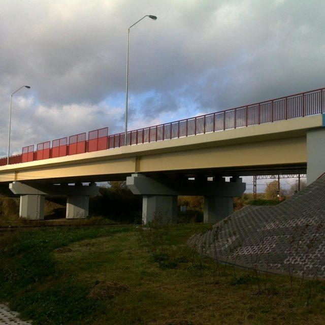 Budowa wiaduktu nad torami PKP w m. Pelplin