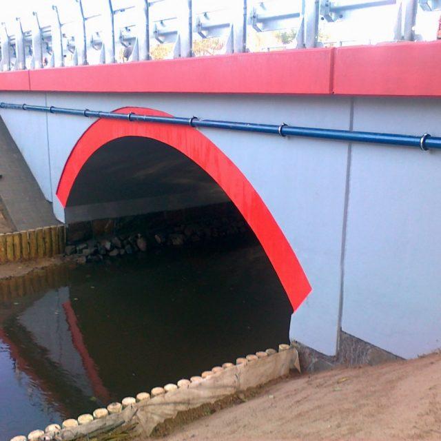 Przebudowa mostu na rzece Jance w m. Morzeszczyn