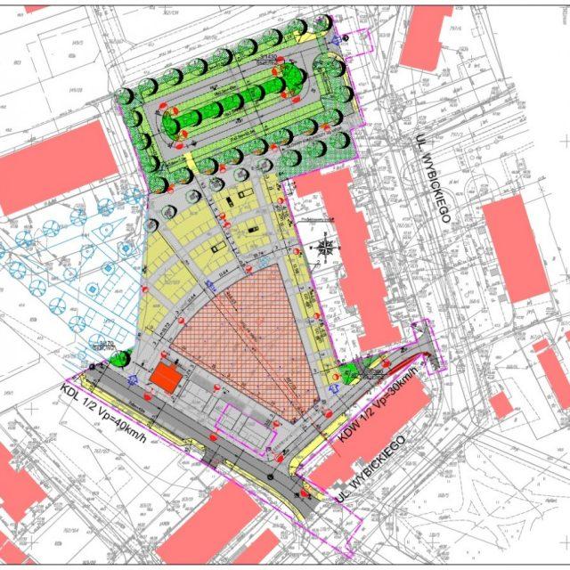 Przebudowa targowiska miejskiego w m. Pelplin
