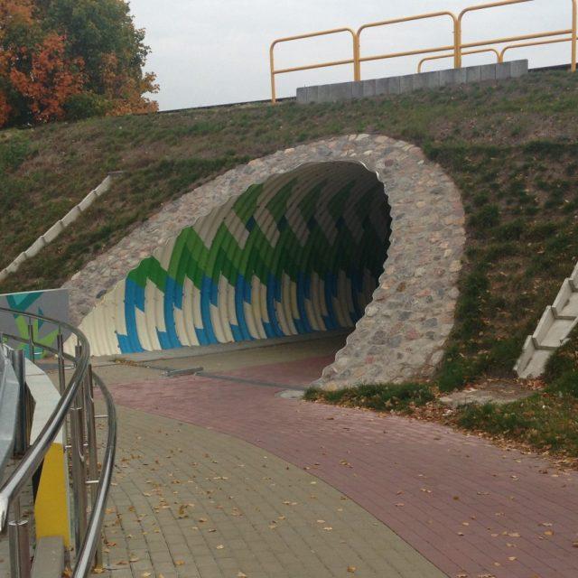 Budowa przejścia pod torami kolejowymi w m. Kwidzyn