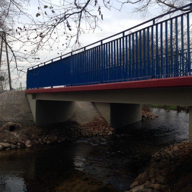 Przebudowa mostu w ciągu DP nr 2622G w m. Leśno