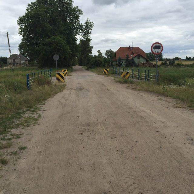 Przebudowa mostu w m. Bronowo