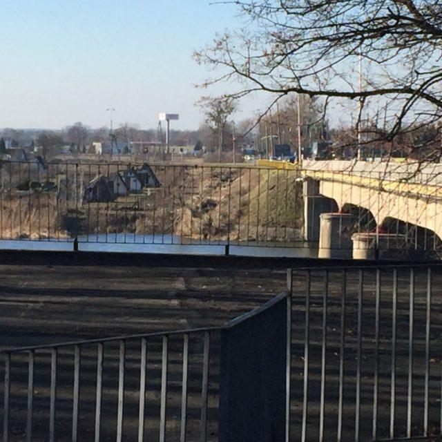 Budowa mostu nad rz. Nogat w m. Malbork